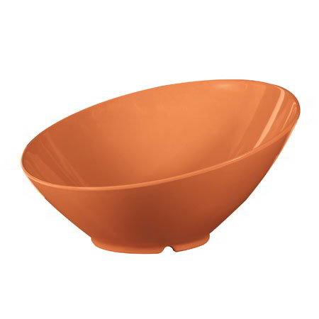 GET B-789-PK 36-oz Cascading Melamine Bowl, Pumpkin