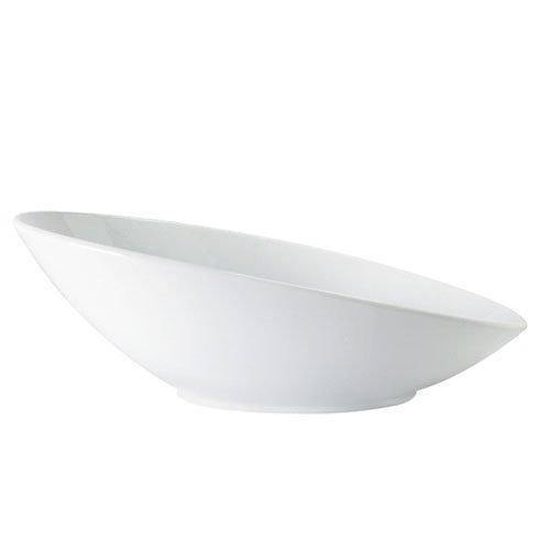 GET B-798-W 2.5-qt Oval San Michele Melamine Bowl, White