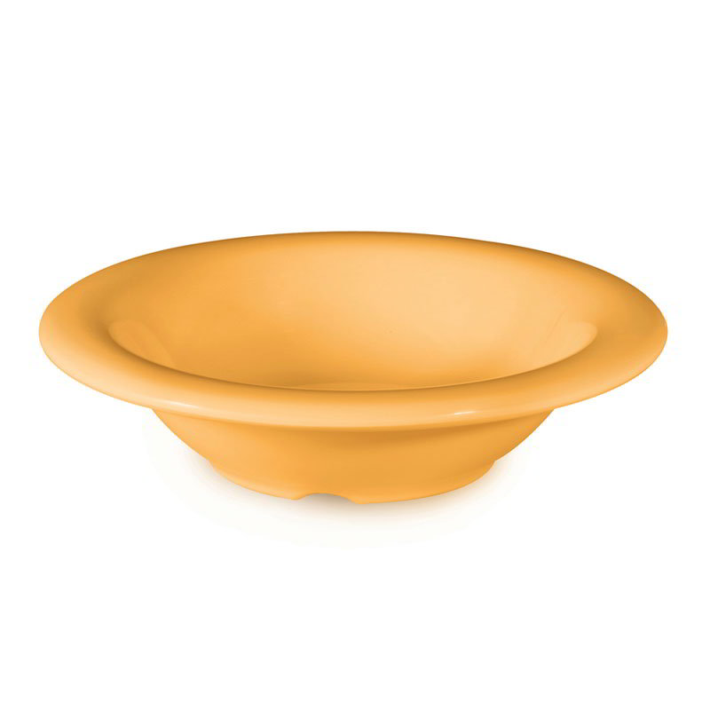 "GET B-86-TY 8-oz Bowl, 6"" Melamine, Tropical Yellow"