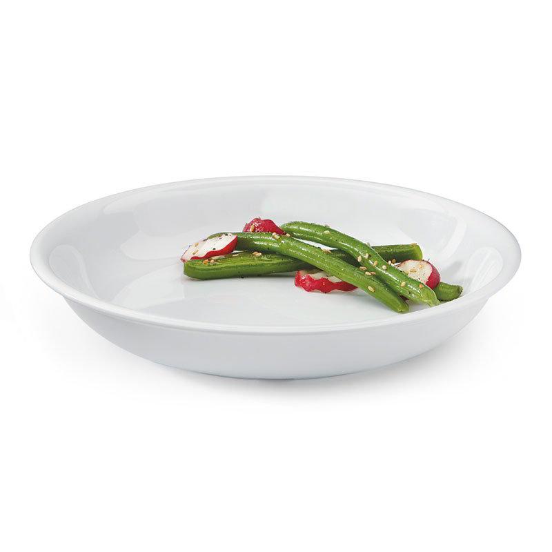 "GET B-875-DW 30-oz Salad/Pasta Plastic Bowl, 8-1/2"" White"