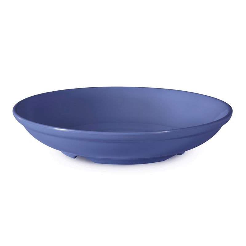 "GET B-925-PB 38-oz Salad/Pasta Plastic Bowl, 9"" Peacock Blue"