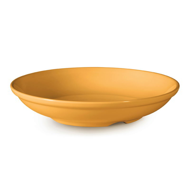"GET B-925-TY 38-oz Salad/Pasta Plastic Bowl, 9"" Tropical Yellow"