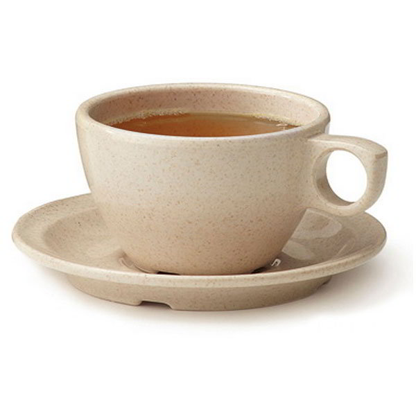 GET BAM-1001 7.5-oz Coffee Cup, Melamine, Beige