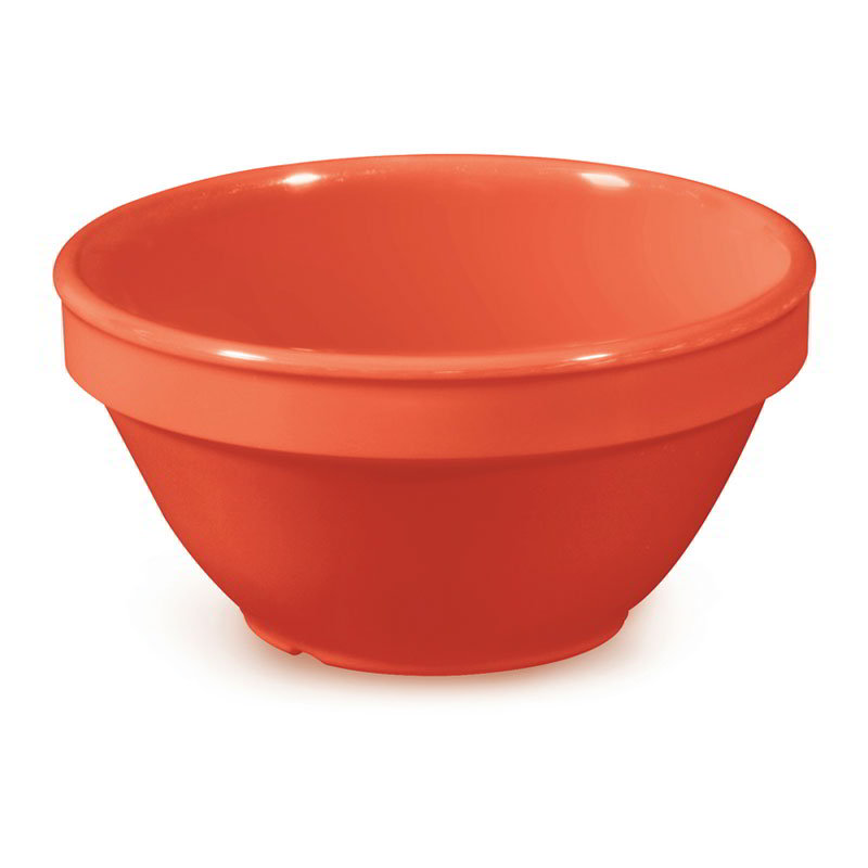 GET BC-170-RO 8-oz Bouillon Cup, Melamine, Rio Orange