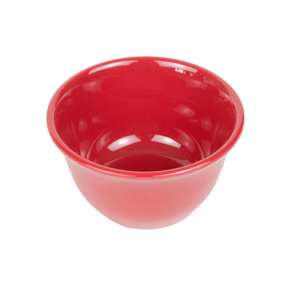"GET BC-70-CR 4"" Round Bouillon Cup w/ 7-oz Capacity, Melamine, Cranberry"