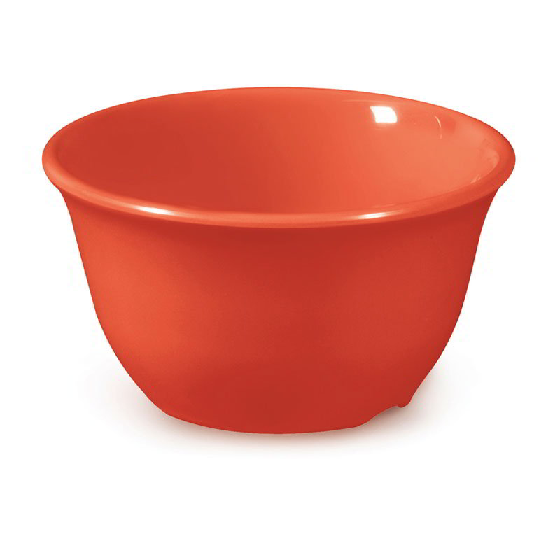 GET BC-70-RO 7-oz Bouillon Cup, Melamine, Rio Orange