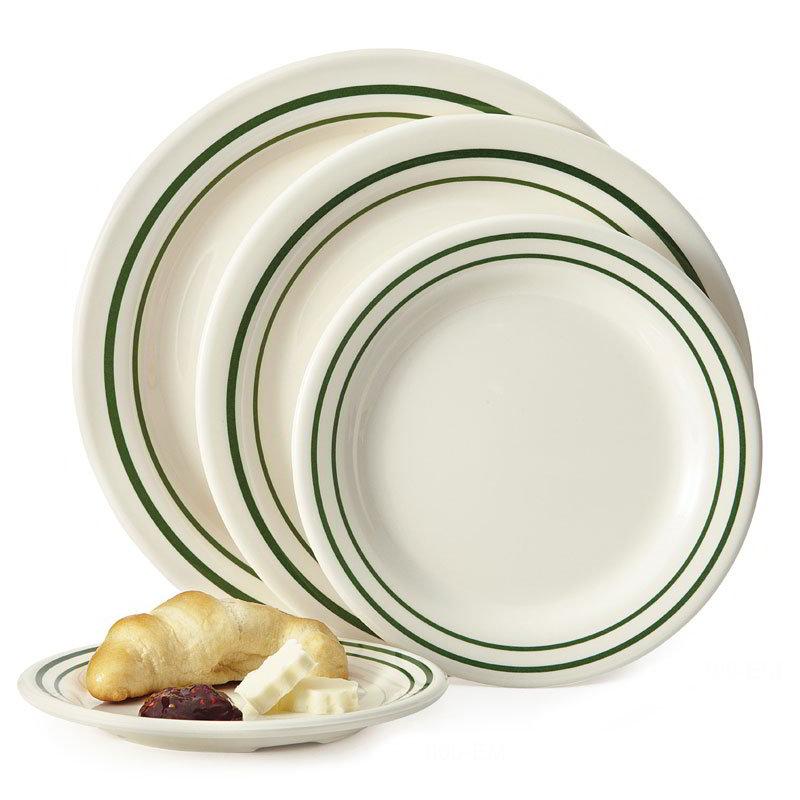 "GET BF-010-EM 10""Dinner Plate, Melamine, Centennial Emerald"