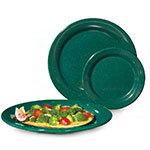 """GET BF-060-KG 6-1/4""""Bread/Dessert Plastic Plate, Kentucky Green"""