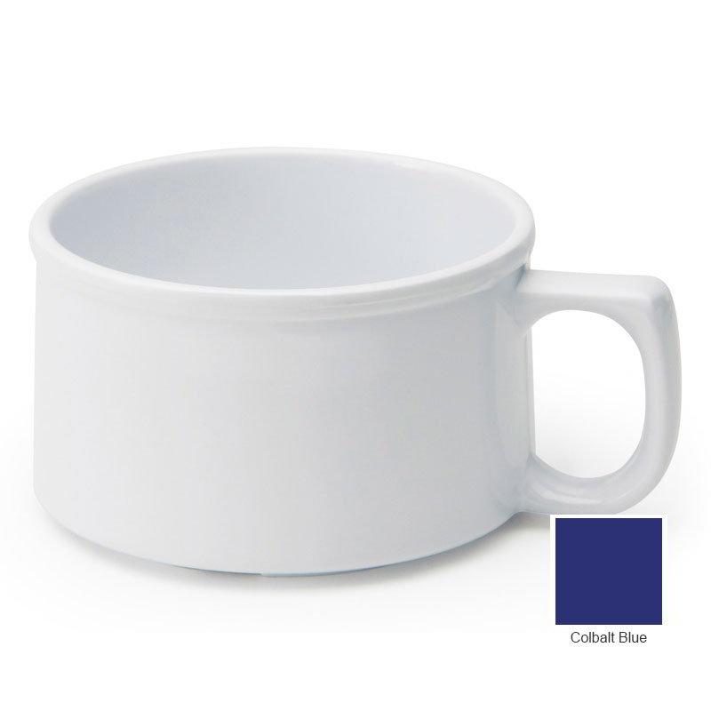 GET BF-080-CB Soup Mug, 11-oz, Melamine, Cobalt Blue