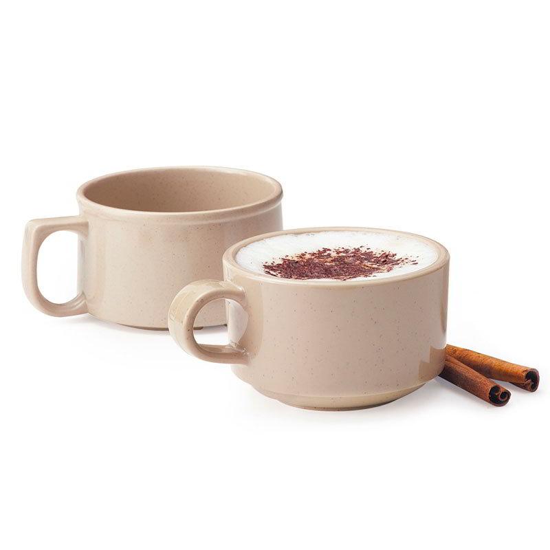 Get BF-080-S 11-oz Soup Mug, Melamine, Sandstone