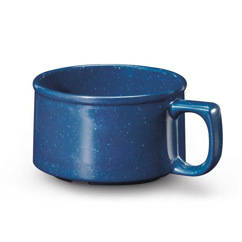 GET BF-080-TB 11-oz Soup Mug, Melamine, Texas Blue
