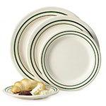 """GET BF-090-EM 9"""" Round Dinner Plate, Melamine, White"""