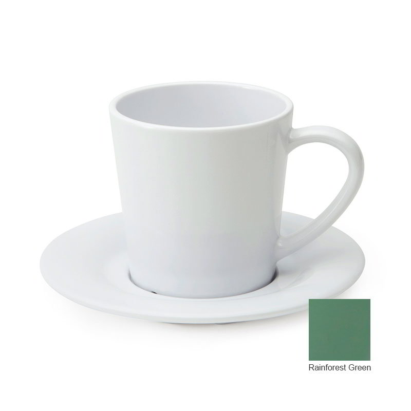GET C-107-FG 7-oz Cup/Mug, Melamine, Rainforest Green