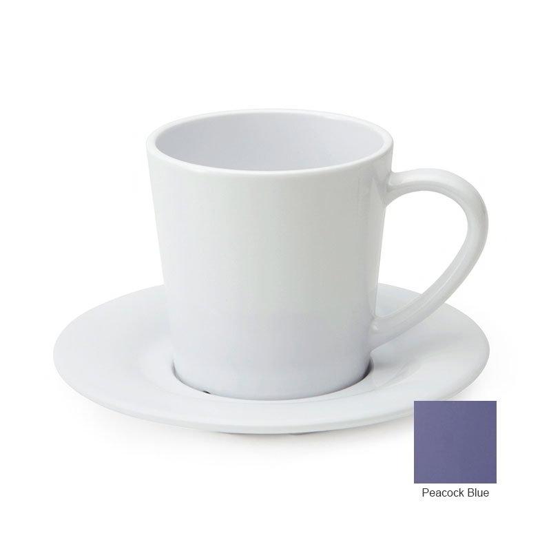 GET C-107-PB 7-oz Cup/Mug, Melamine, Peacock Blue