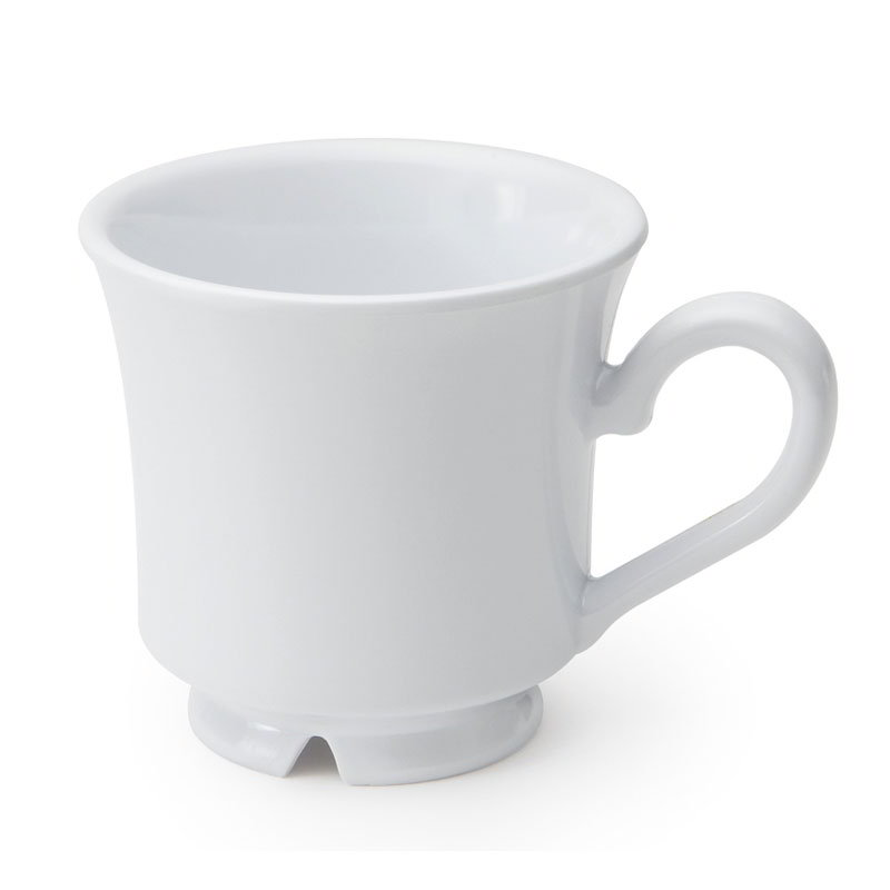 GET C-108-W 7-oz Break Resistant Melamine Cup, White