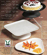 "GET HI-2010-W 13""Plate, Polycarbonate, White"