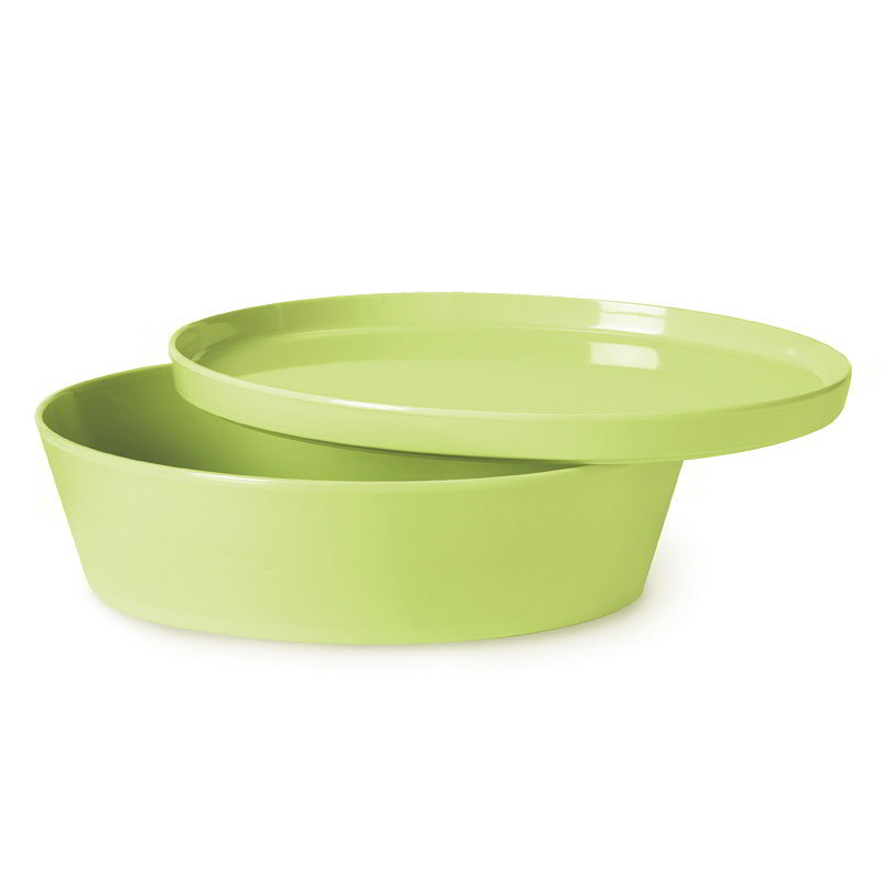 GET CB-935-LM 83-oz Serving Bowl w/ Lid - Melamine, Lime