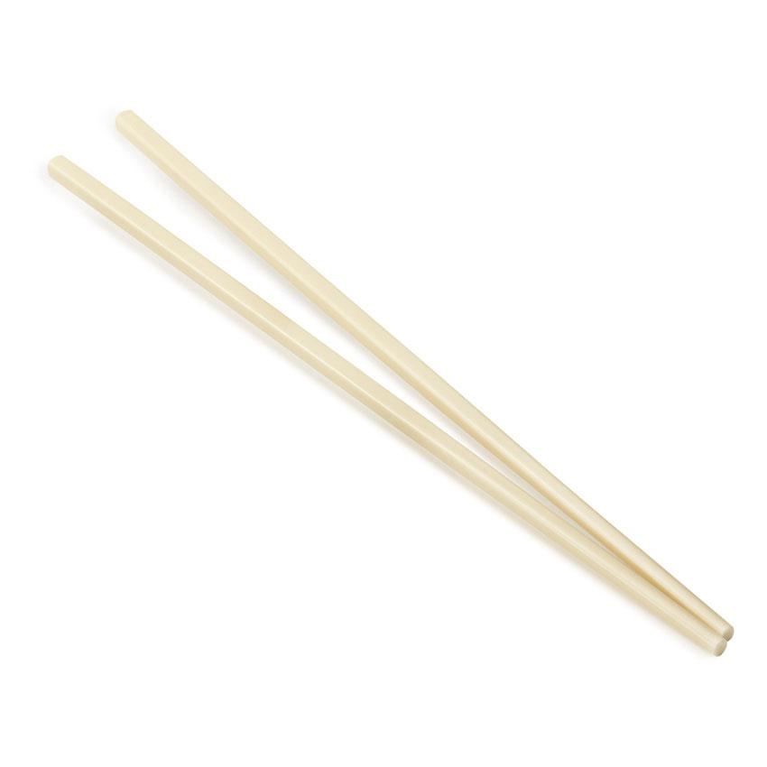 GET CHOPSTICKS-IV Chopsticks, Plastic, Ivory
