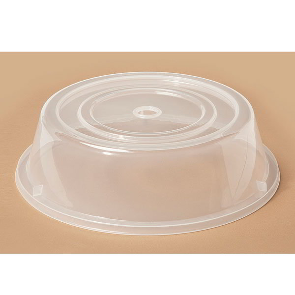 """GET CO-100-CL Cover For 7.9"""" To 8.8"""" Round Plates, Clear Polypropylene"""