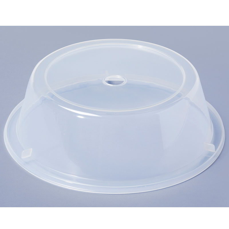 "GET CO-91-CL Cover For 8.63"" To 9.25"" Round Plates, Clear Polypropylene"