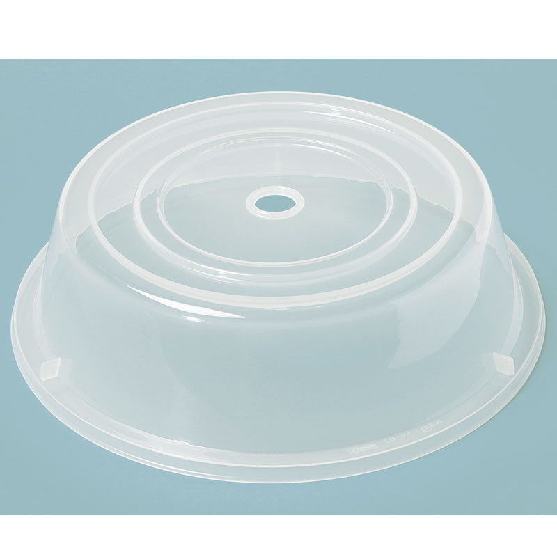 "GET CO-94-CL Cover For 9.25"" To 10"" Round Plates, Clear Polypropylene"
