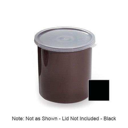 GET CR-0120-BK 1.2 qt Salad Crock w/Lid, Plastic, Black