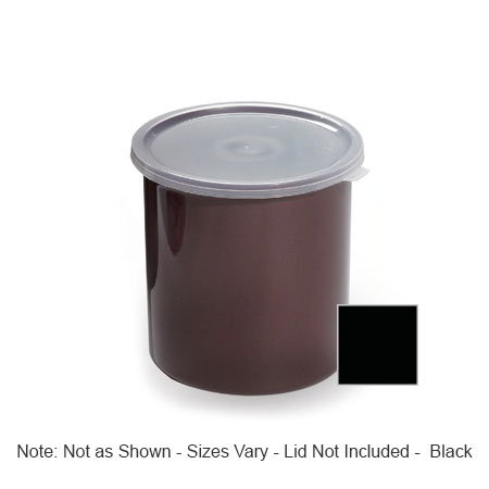 GET CR-0150-BK 1.5-qt Salad Crock w/ Lid, Plastic, Black