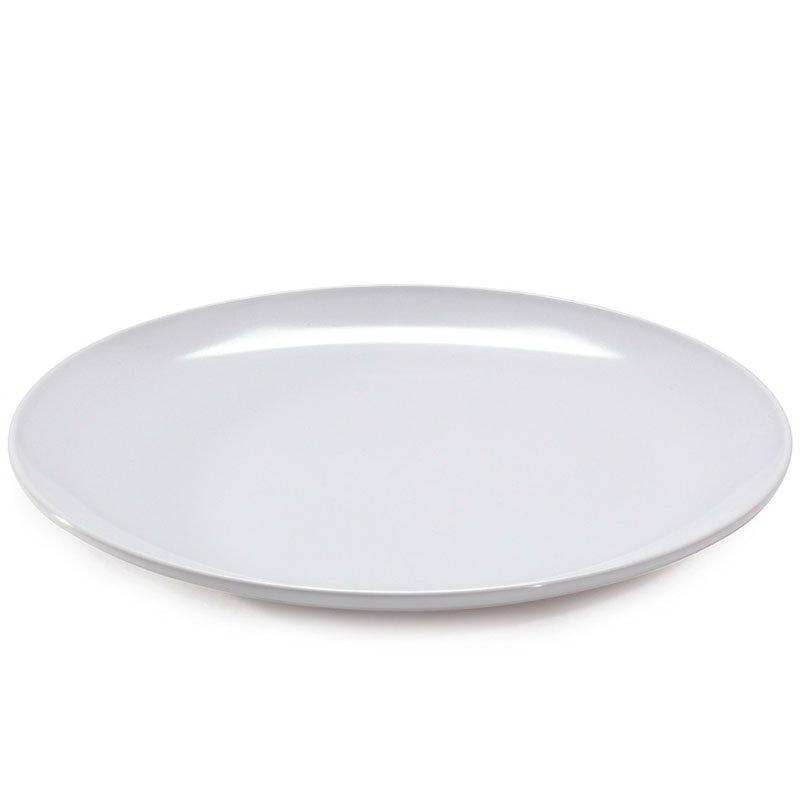 """GET CS-6100-W 7.75"""" Round Plate, Melamine, White"""