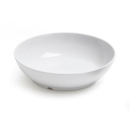 "GET CS-6106-W Siciliano Bowl, 40-oz, 8-1/2""Diameter, Melamine, White"
