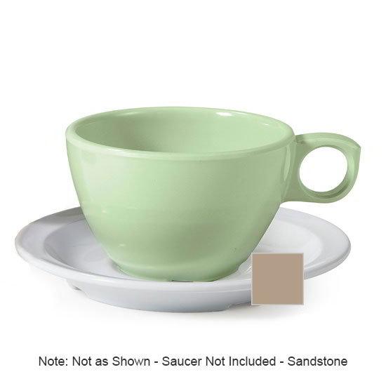 GET DC-100-S 7.5-oz Coffee Cup, Melamine, Sandstone