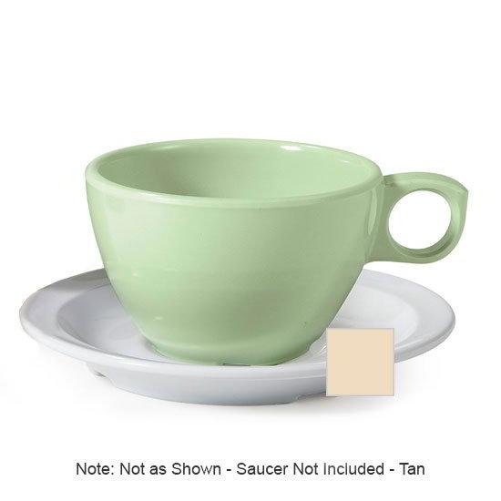 GET DC-100-T 7.5-oz Coffee Cup, Melamine, Tan
