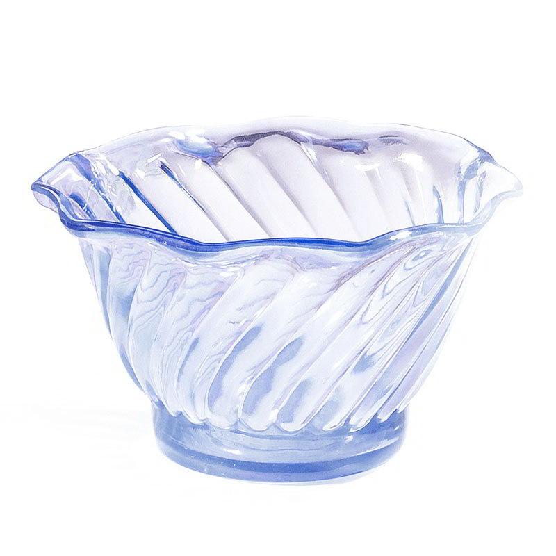 GET DD-50-BL 5-oz Dessert Dish, SAN Plastic, Blue