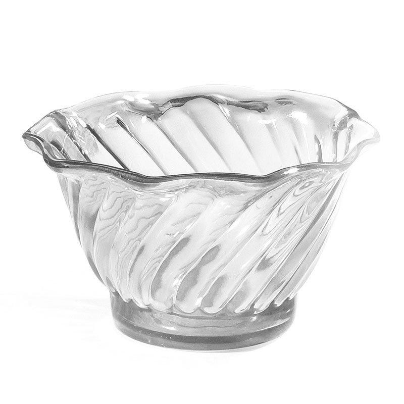GET DD-50-CL 5-oz Dessert Dish, SAN Plastic, Clear Plastic