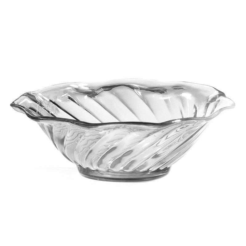 """GET DD-60-CL 4.5"""" Dessert Dish w/ 6-oz Capacity, Clear Plastic"""