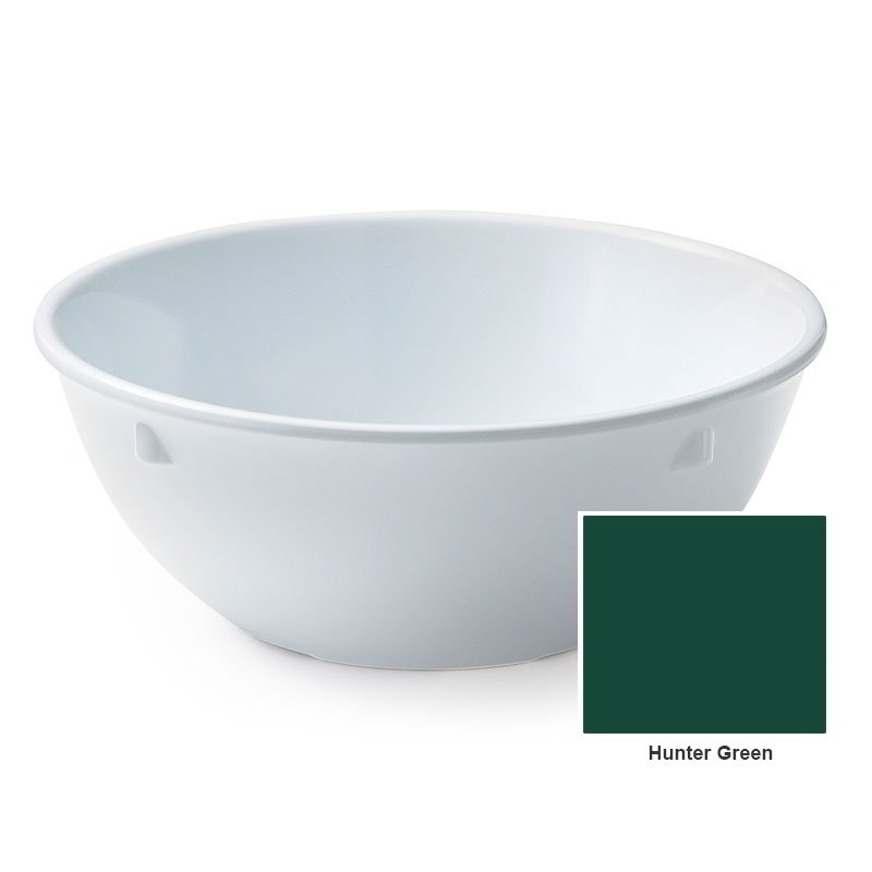 "GET DN-310-HG 10-oz Nappie, 4-3/4"" Melamine, Hunter Green, Supermel"