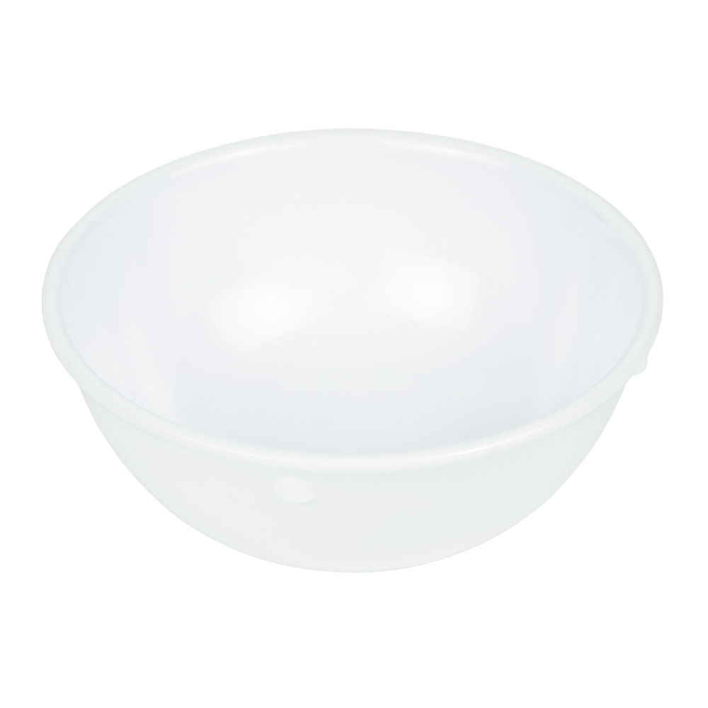 "GET DN-310-W 4.75"" Round Oatmeal Bowl w/ 10-oz Capacity, Melamine, White"