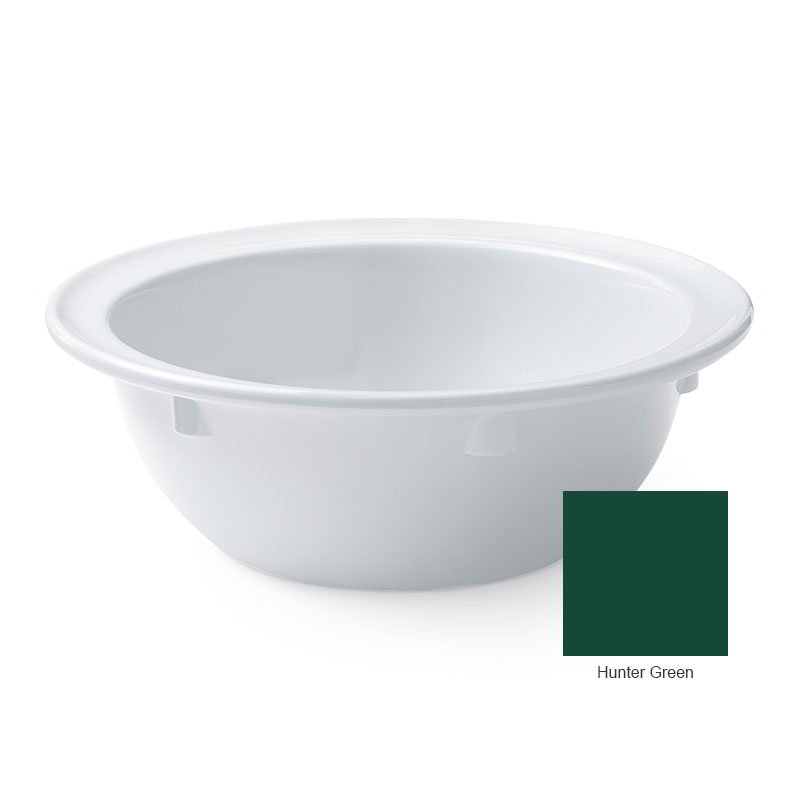 "GET DN-313-HG 13-oz Grapefruit Bowl, 5-5/8"" Melamine, Hunter Green, Supermel"