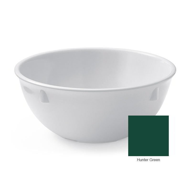 "GET DN-315-HG 15-oz Nappie, 5-1/4"" Melamine, Hunter Green, Supermel"