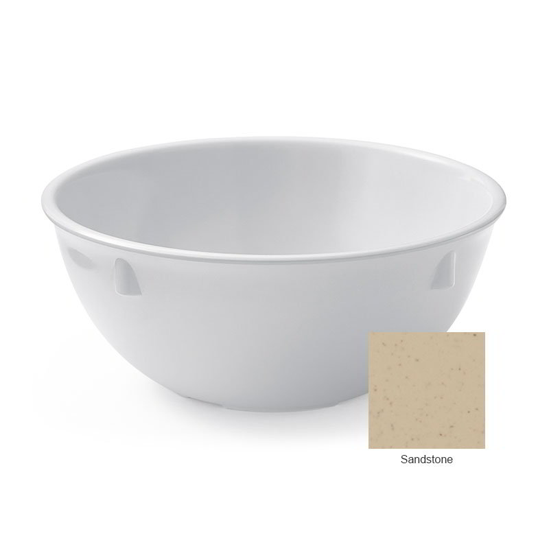 "GET DN-315-S 5.25"" Round Oatmeal Bowl w/ 15-oz Capacity, Melamine, Sandstone"