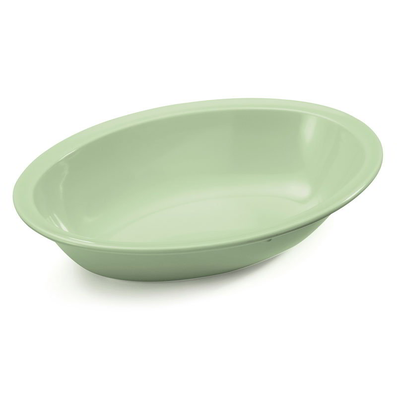 "GET DN-332-G 32-oz Bowl, 10""x 7-3/8"" Oval, Melamine, Green"