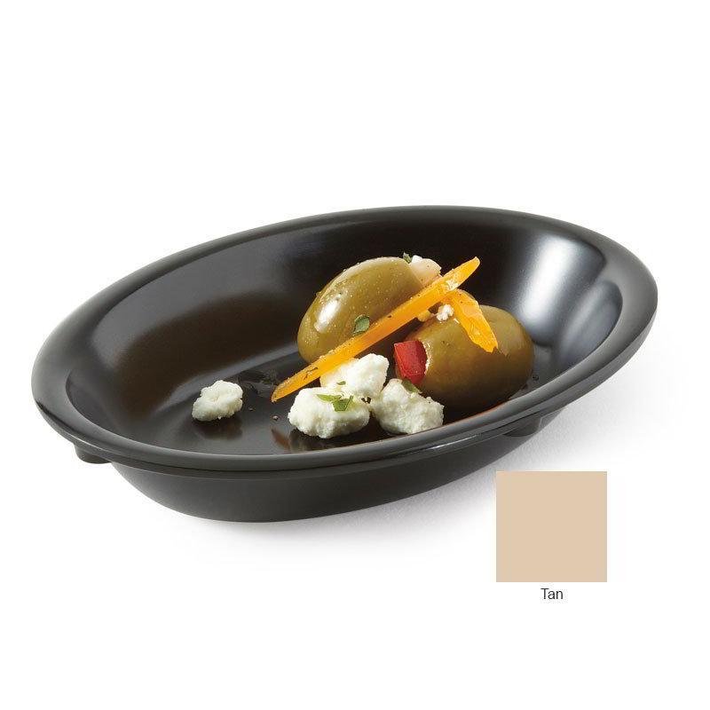 GET DN-365-T 5-oz Side Plastic Dish, Tan