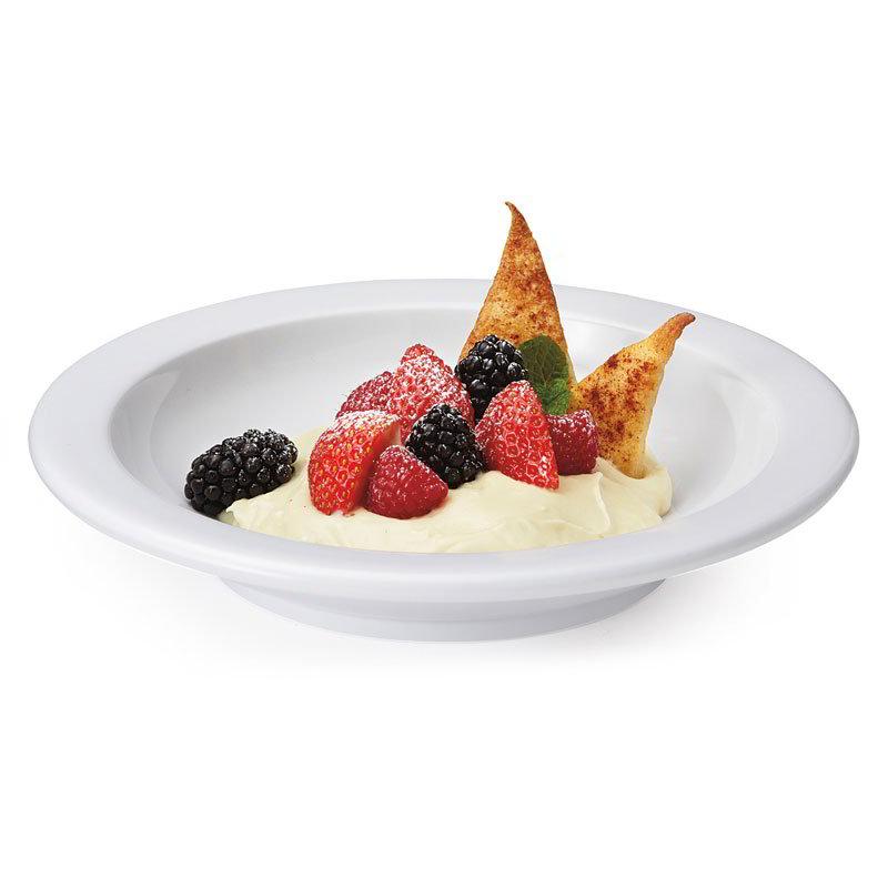 "GET DN-416-W 16-oz Soup Plate, 8-3/8""Melamine, White, Supermel"