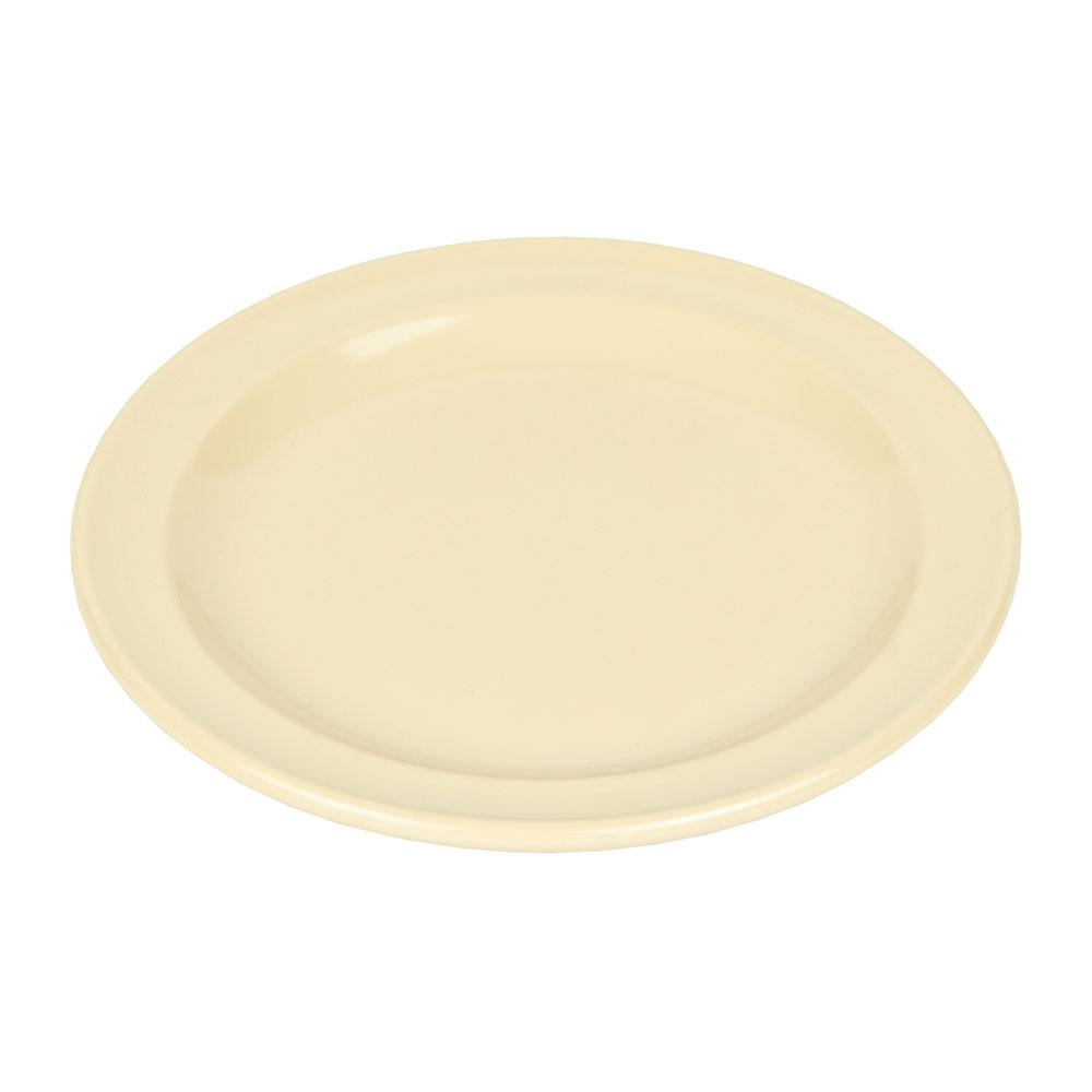 "GET DP-505-T 5.5"" Round Bread & Butter Plate, Melamine, Tan"