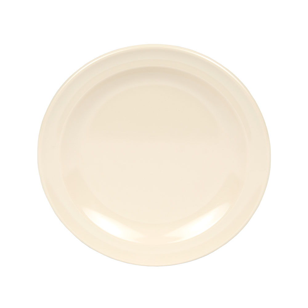 "GET DP-505-T 5-1/2""Bread & Butter Plastic Plate, Tan, Supermel"