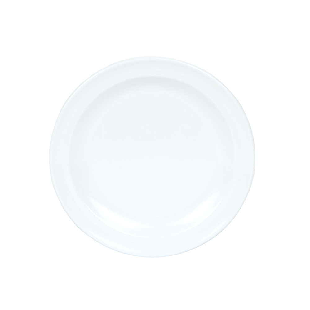 "GET DP-505-W 5-1/2""Bread & Butter Plastic Plate, White, Supermel"