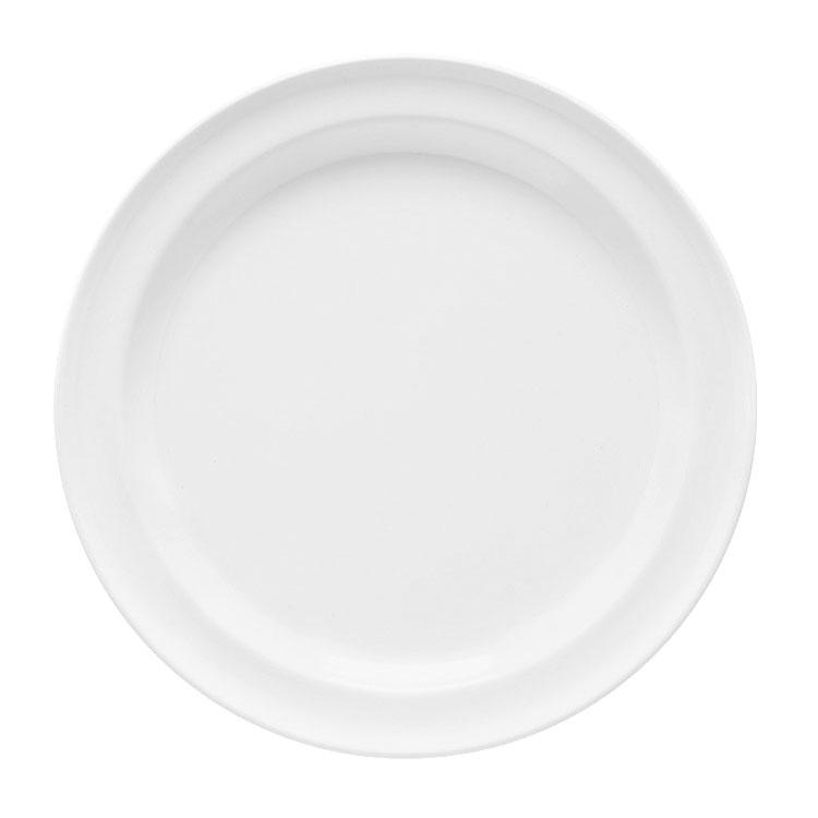 "GET DP-506-W 6-1/2""Salad Plate, Melamine, White, Supermel"