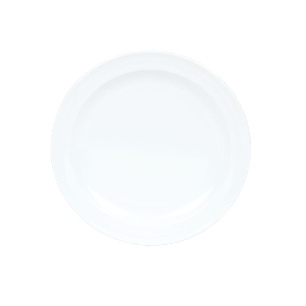 "GET DP-507-W 7-1/4""Dessert Plate, Melamine, White, Supermel"