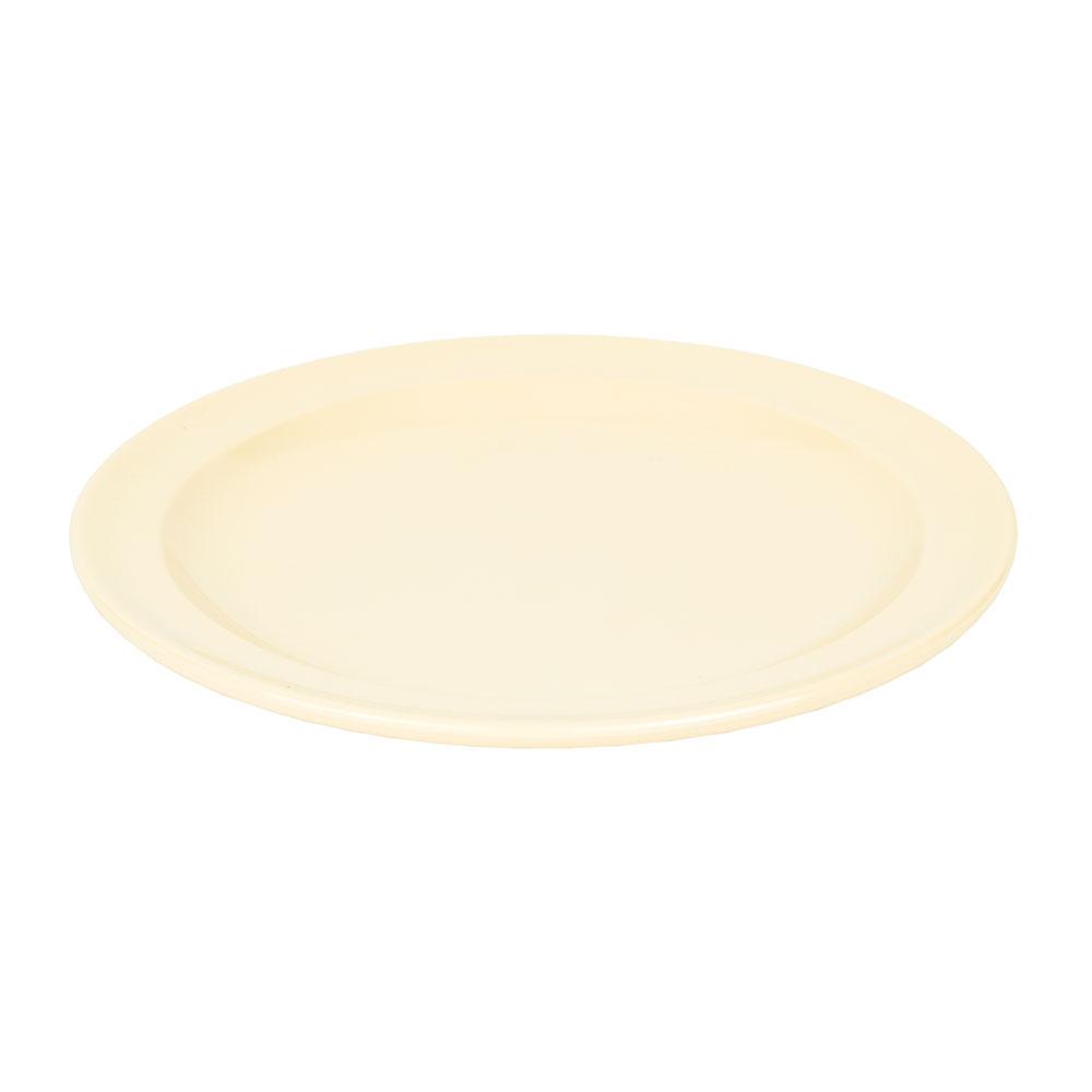 "GET DP-508-T 8"" Round Lunch Plate, Melamine, Tan"