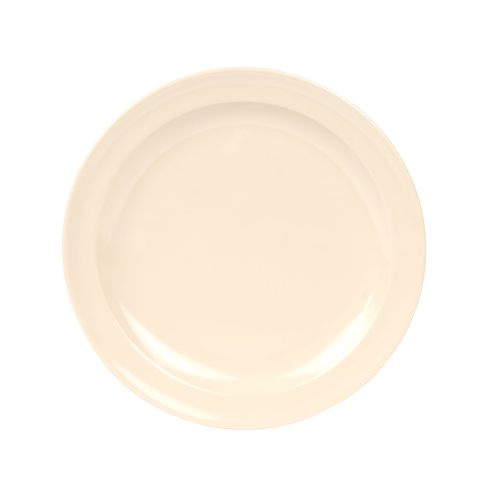 "GET DP-508-T 8""Lunch Plate, Melamine, Tan, Supermel"