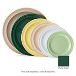 "GET DP-509-HG 9""Dinner Plate, Melamine, Hunter Green, Supermel"